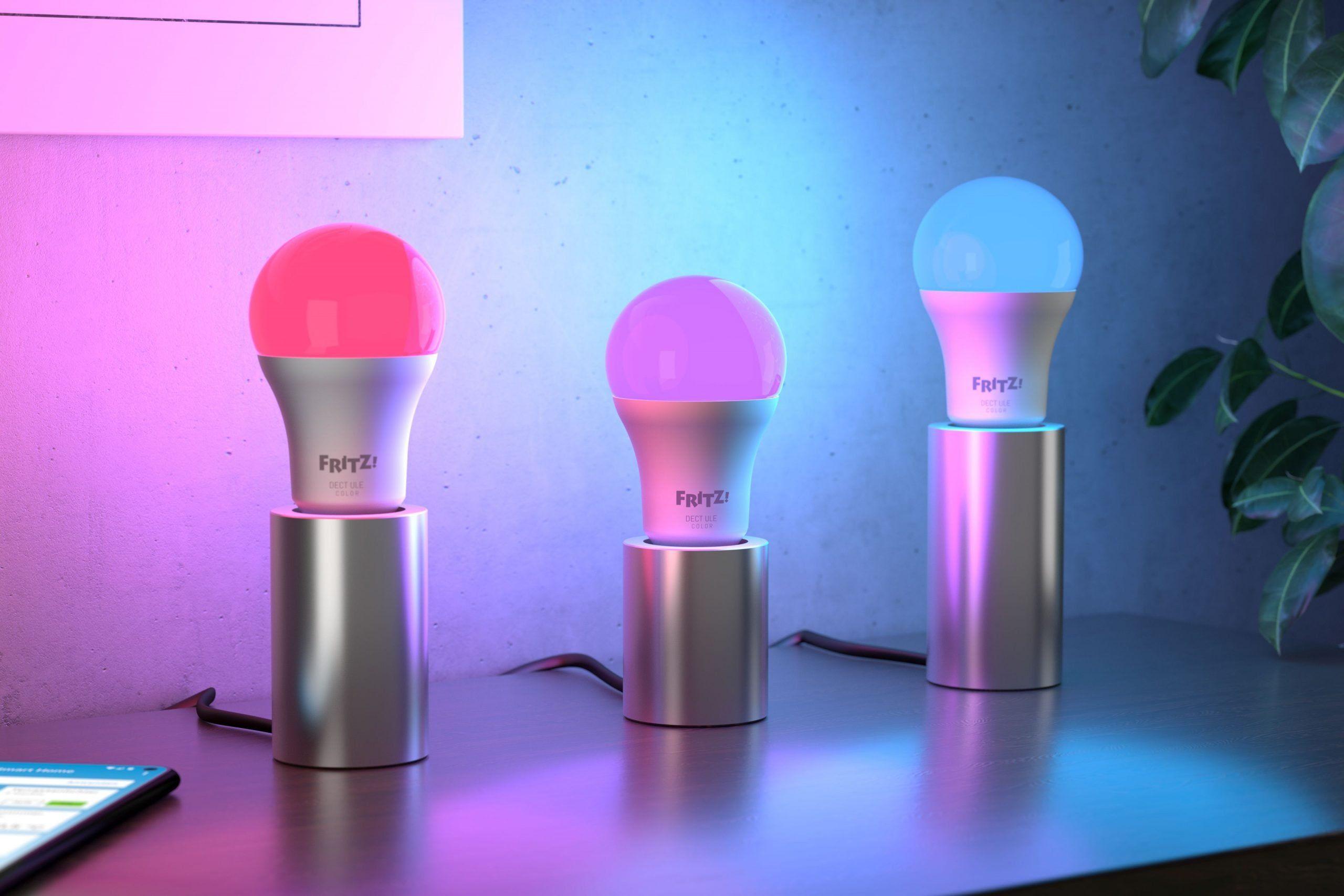Smart Home od FRITZ! – inteligentna żarówka LED oraz wielofunkcyjny przycisk z wyświetlaczem e-papier