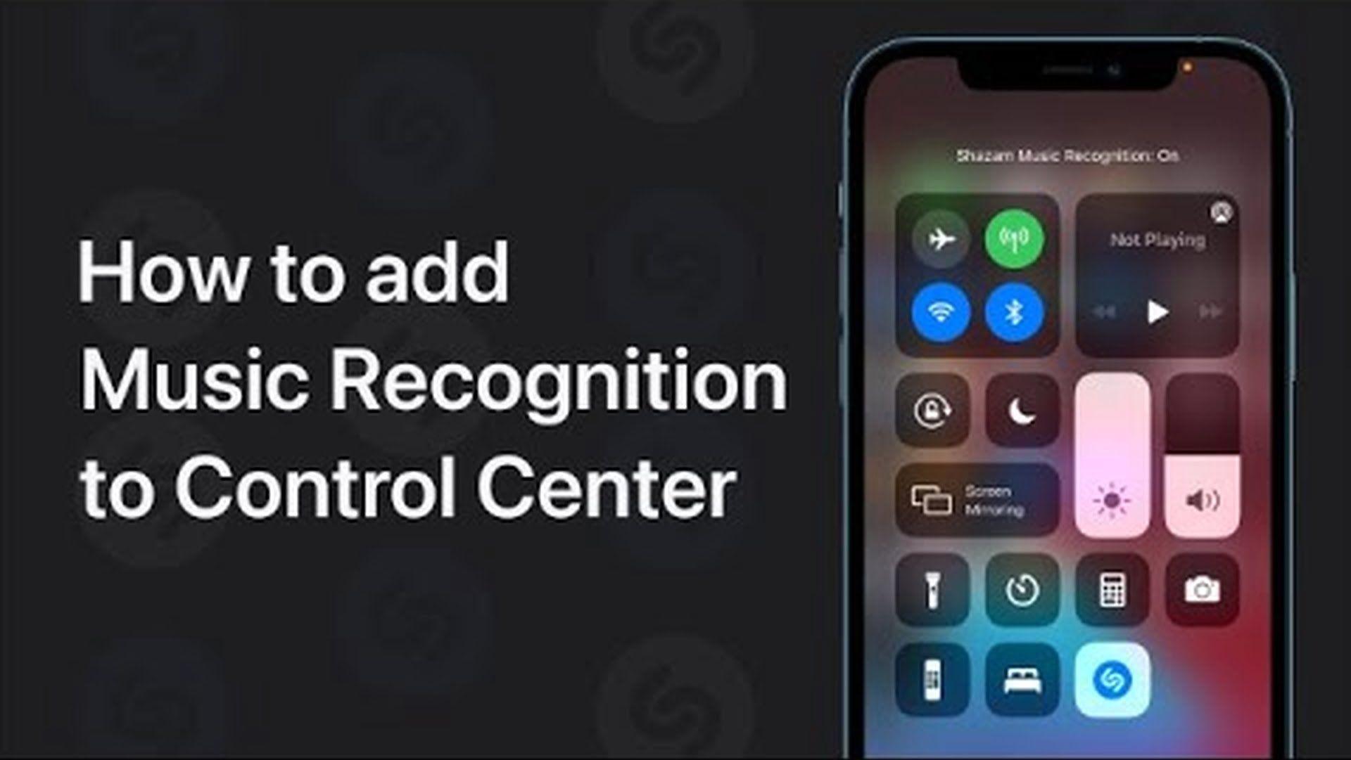 Poradnik Apple: Jak dodać rozpoznawanie muzyki do Centrum Sterowania