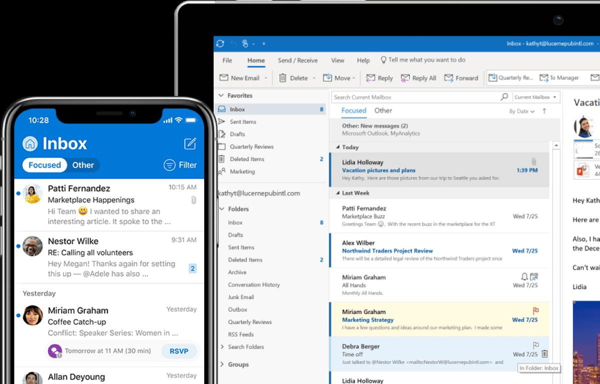 Firma Microsoft chce zastąpić program Outlook na komputerach Mac