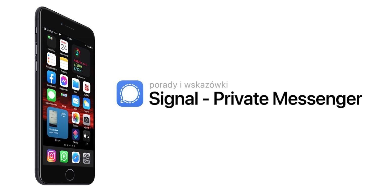 Kilka powodów, dla których warto używać Signal na iPhonie