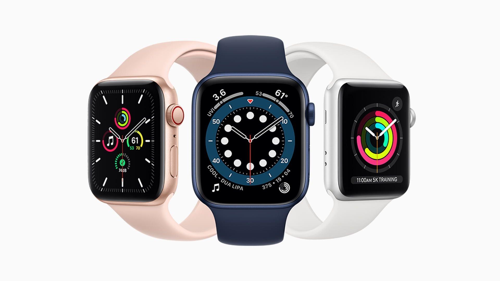 Bezpłatna wymiana niektórych zegarków Apple Watch Series 5 i SE