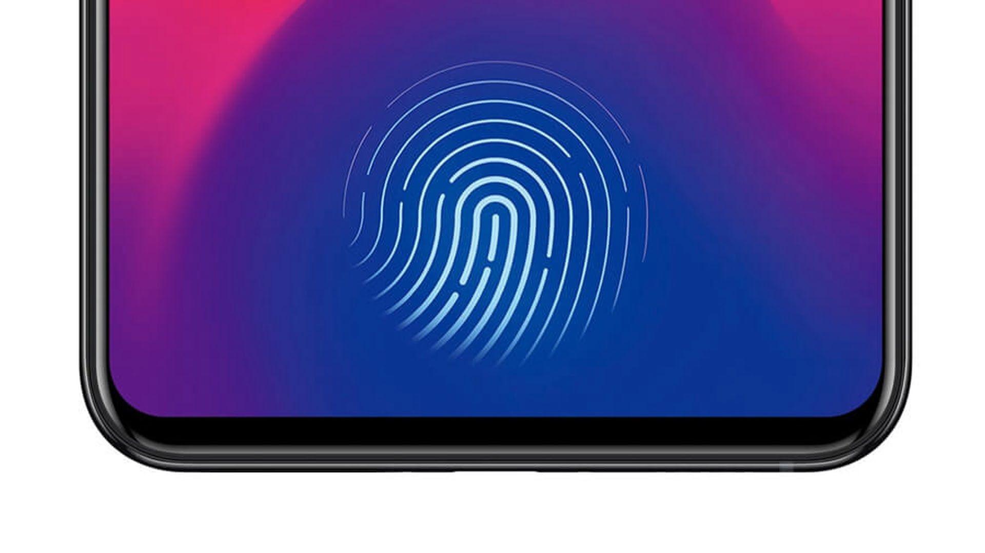 Czytnik linii papilarnych Touch ID zintegrowany z ekranem iPhone'a 13