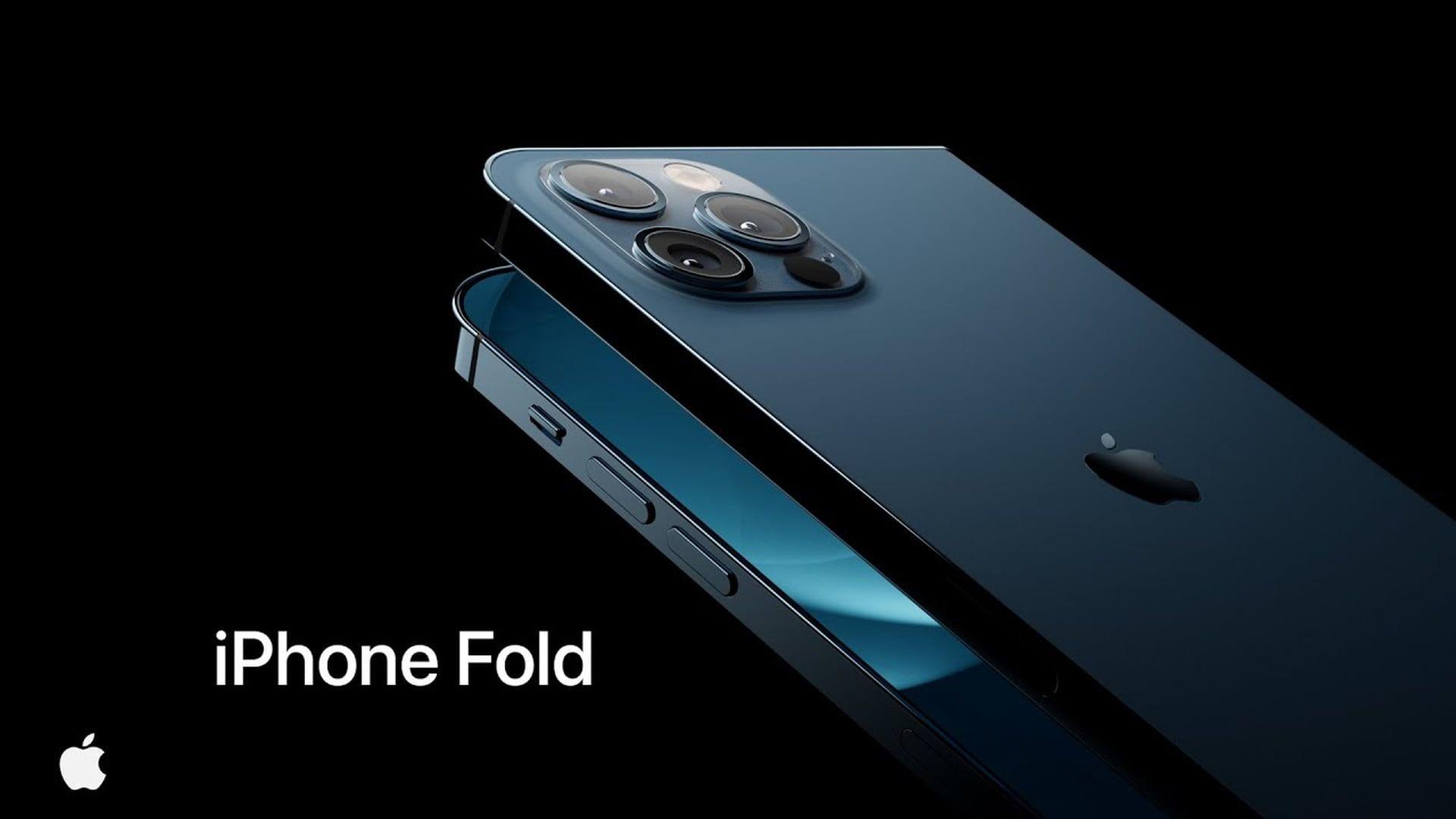 Koncepcyjna wizja wyglądu składanego iPhone'a Fold