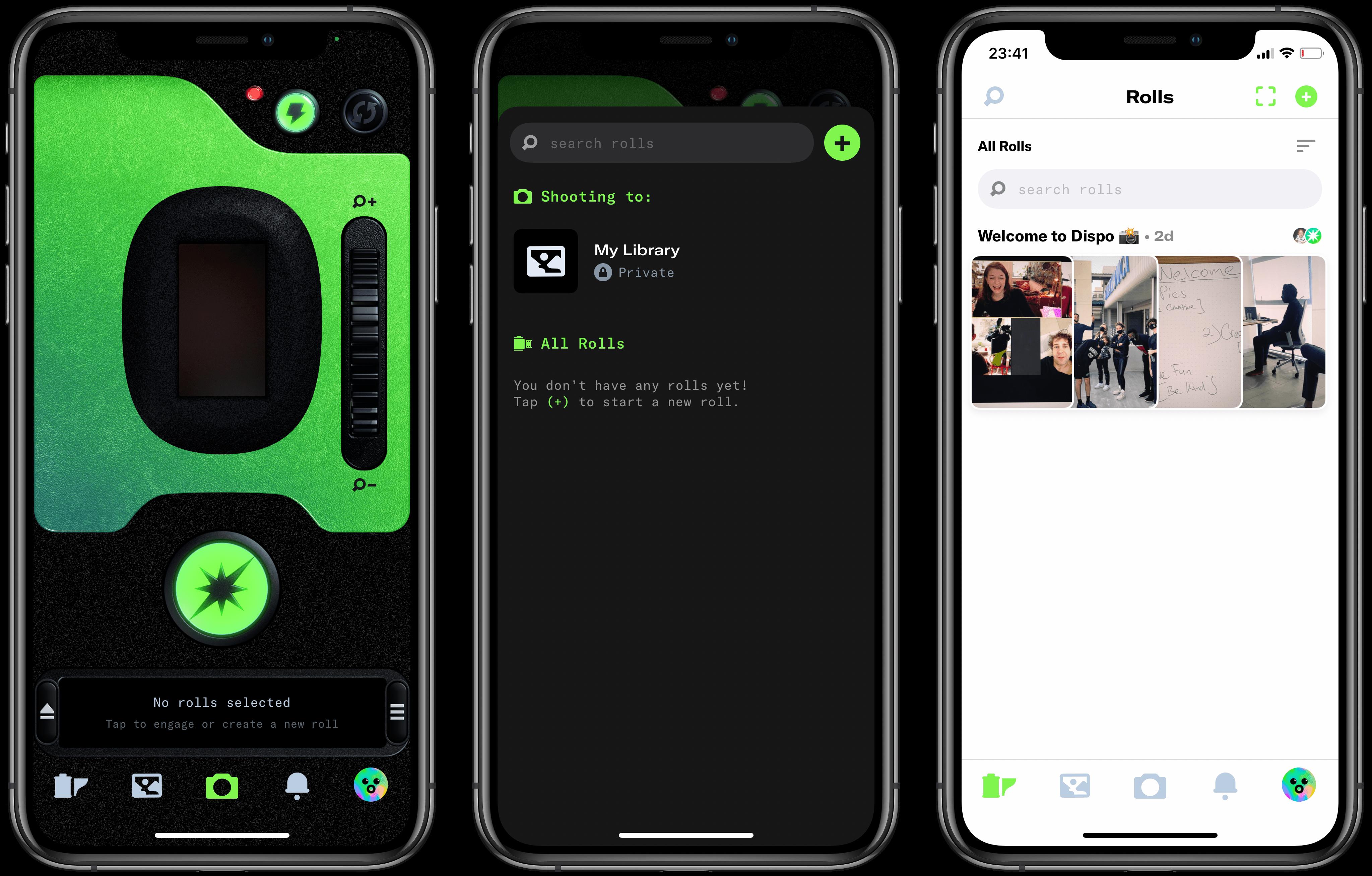 Dispo – niesamowita, realistyczna aplikacja-polaroid, za darmo z App Store!