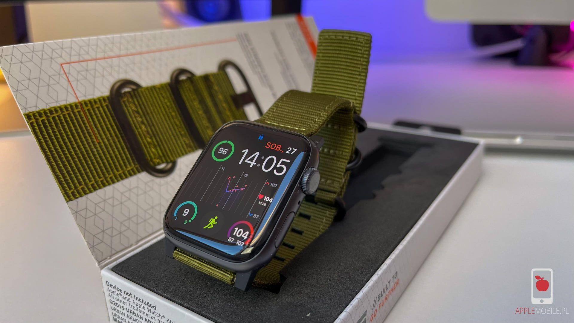 Recenzja UAG NATO Straps – solidny nylonowo pasek dla Apple Watch