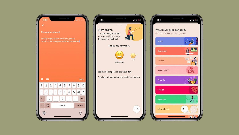 Twój własny, cyfrowy dziennik uczuć – przegląd apki Tangerine