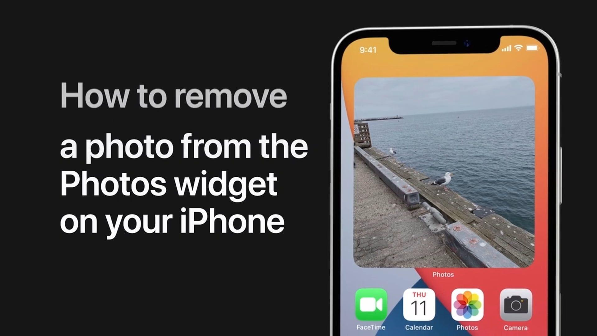 Poradnik Apple: Jak usunąć fotografie z widżetu Zdjęć na iPhonie
