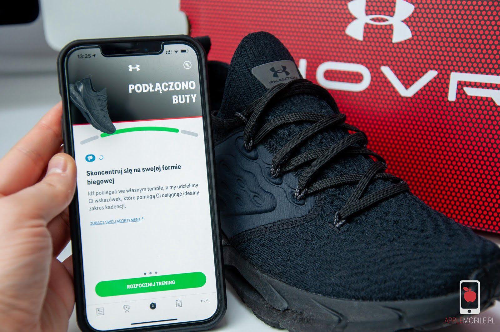 Recenzja Under Armour HOVR Phantom 2 – buty, które połączysz z iPhonem i Apple Watchem