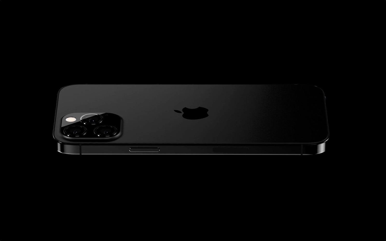 iPhone 13 Pro w czarnym macie, a także z nową powłokąchroniącąprzed odciskami palców