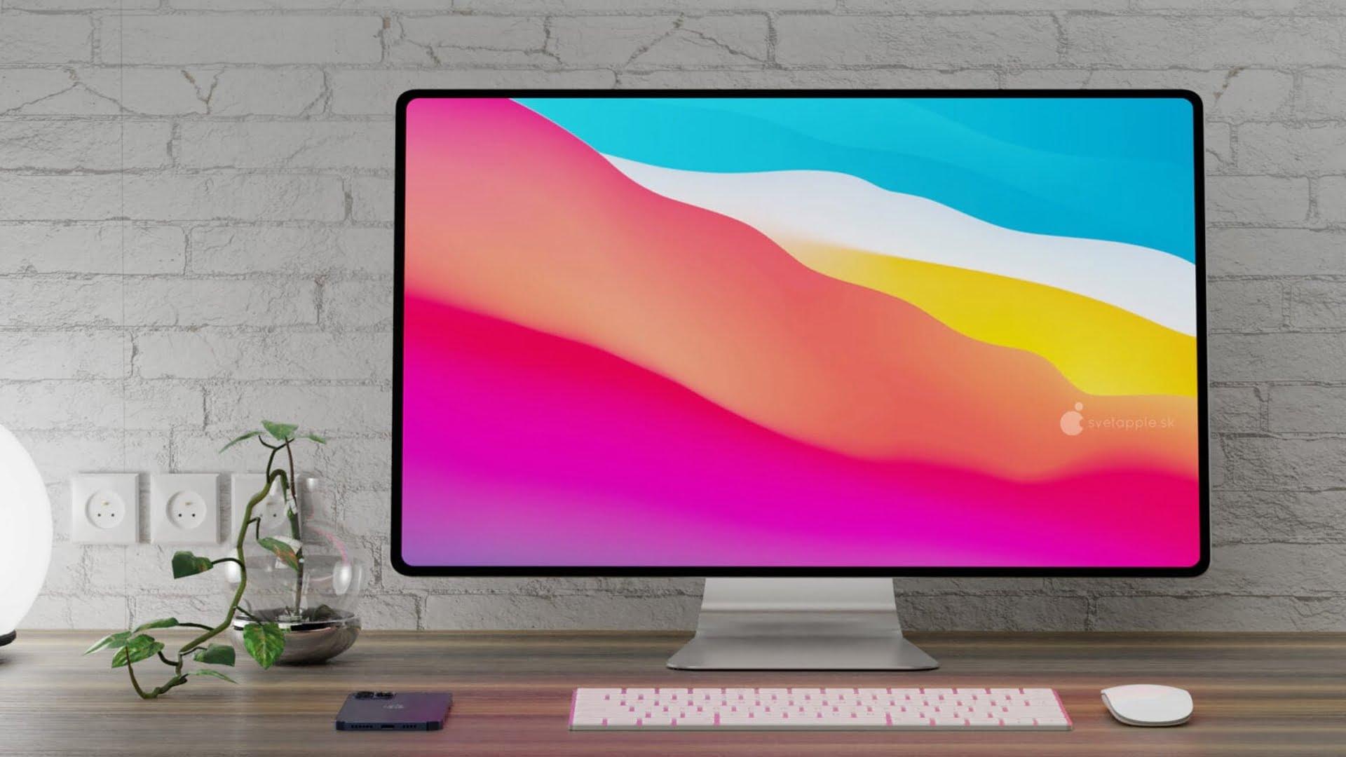 Zbliżająca się premiera komputera iMac z procesorem Apple Silicon