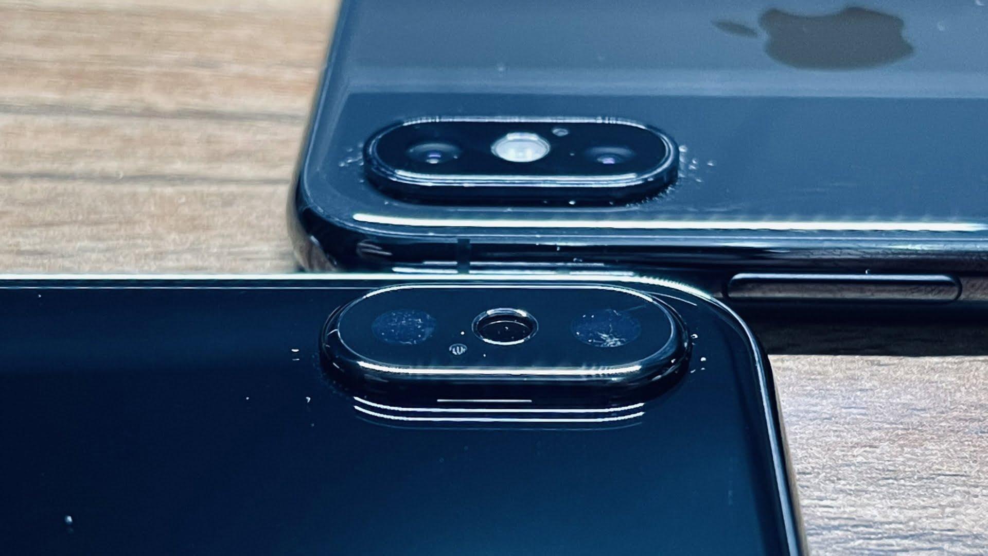 Zdjęcia przedstawiające prototyp iPhone'a X w kolorze Jet Black