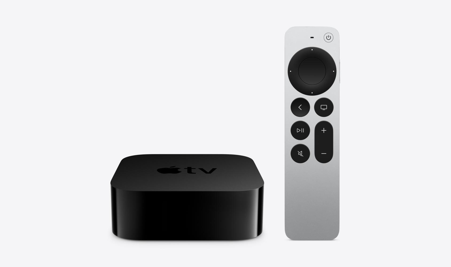 Firma Apple pokazuje odświeżone Apple TV 4K z nowym pilotem