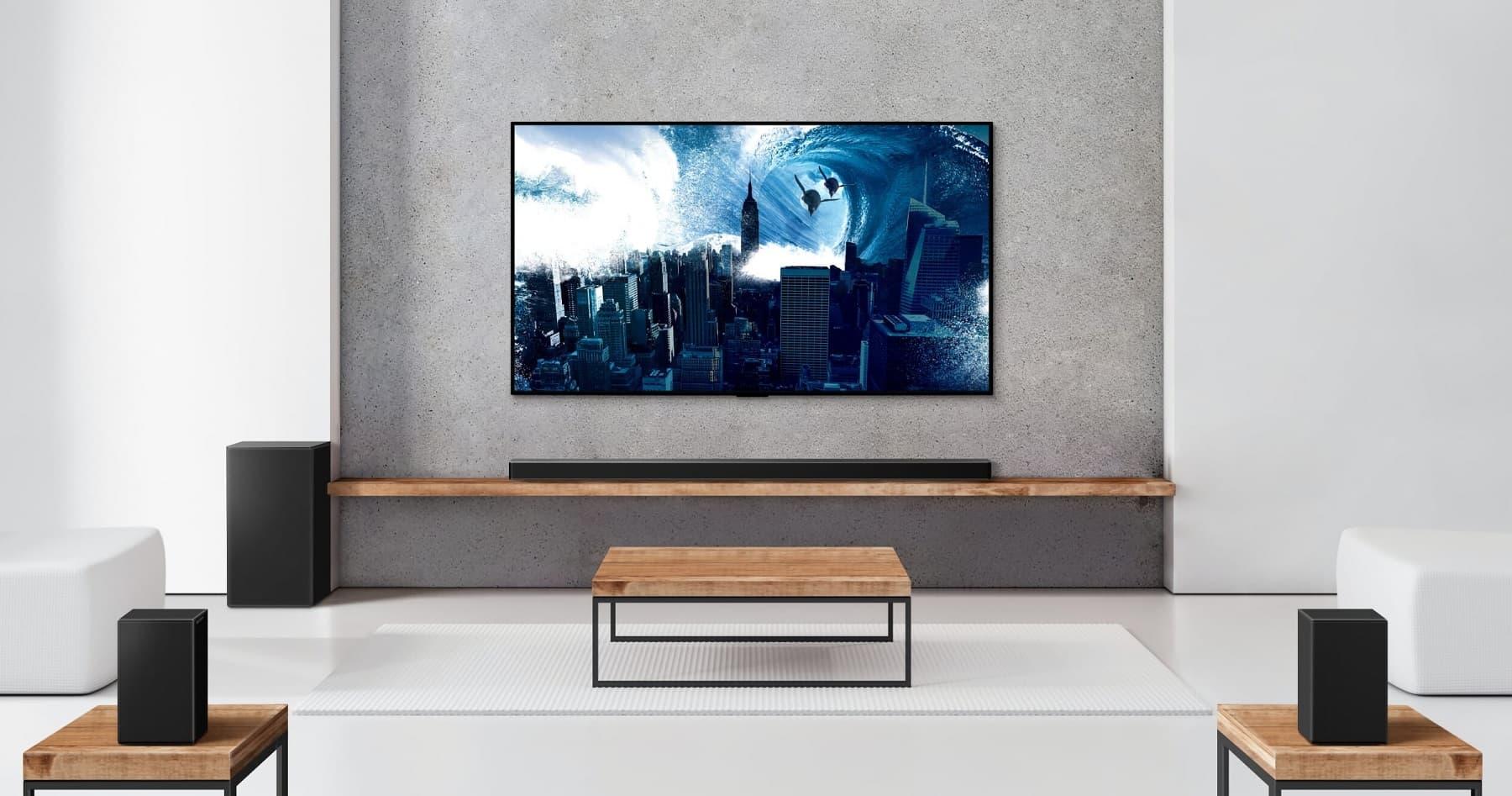 LG wprowadza gamę soundbarów z obsługą AirPlay 2 i Siri