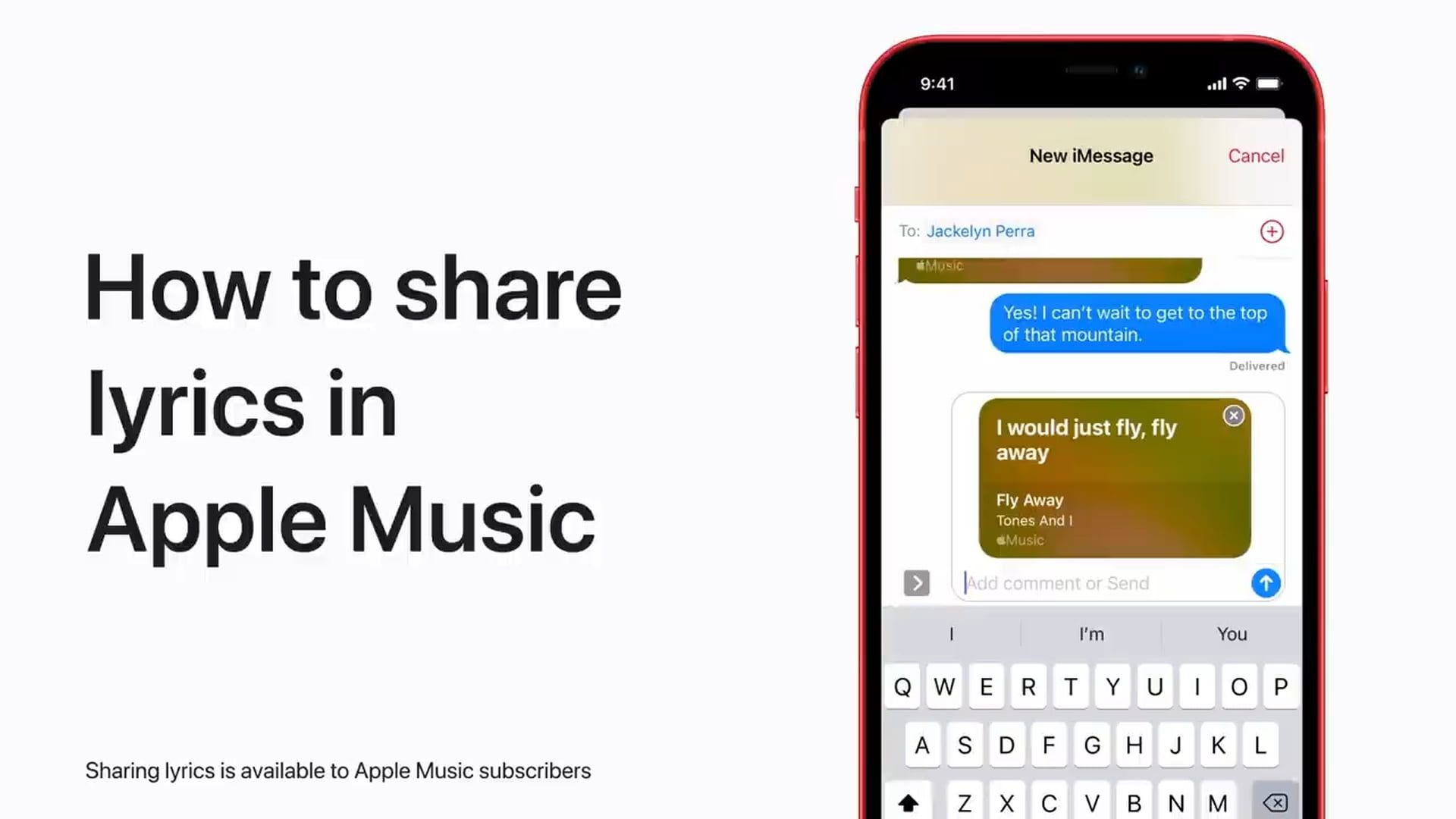 Poradnik Apple: Jak udostępniać teksty piosenek z Apple Music