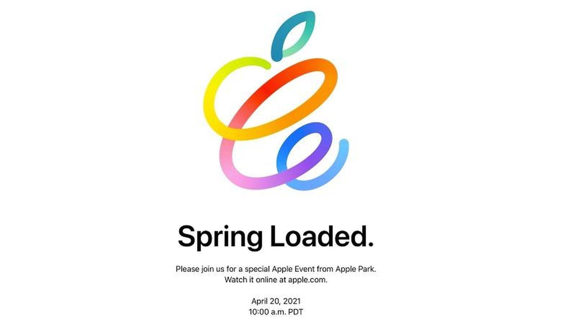 Prezentacja nowych produktów od firmy Apple 20 kwietnia