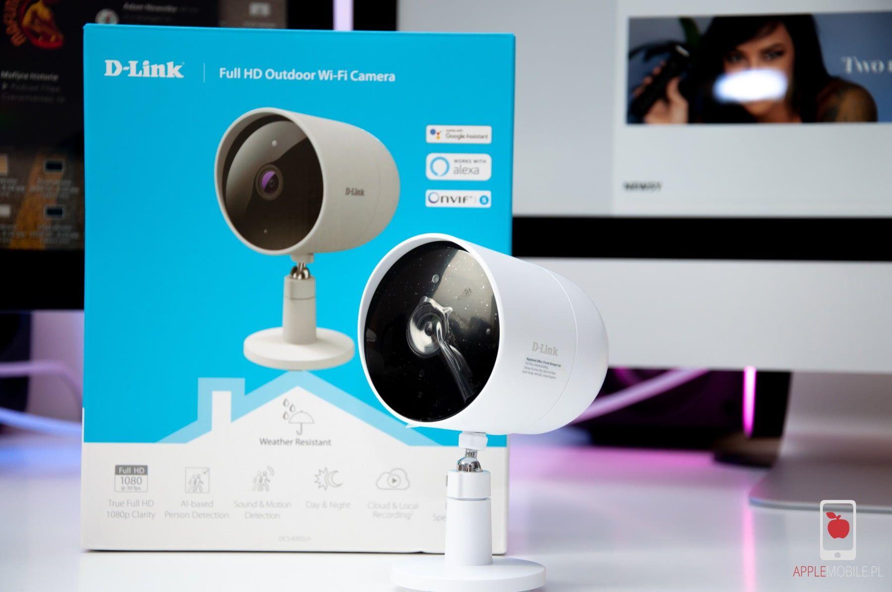 Recenzja D-LINK Full HD Outdoor Wi-Fi Camera DCS-8302LH | kamera zewnętrzna z bezpłatną chmurą