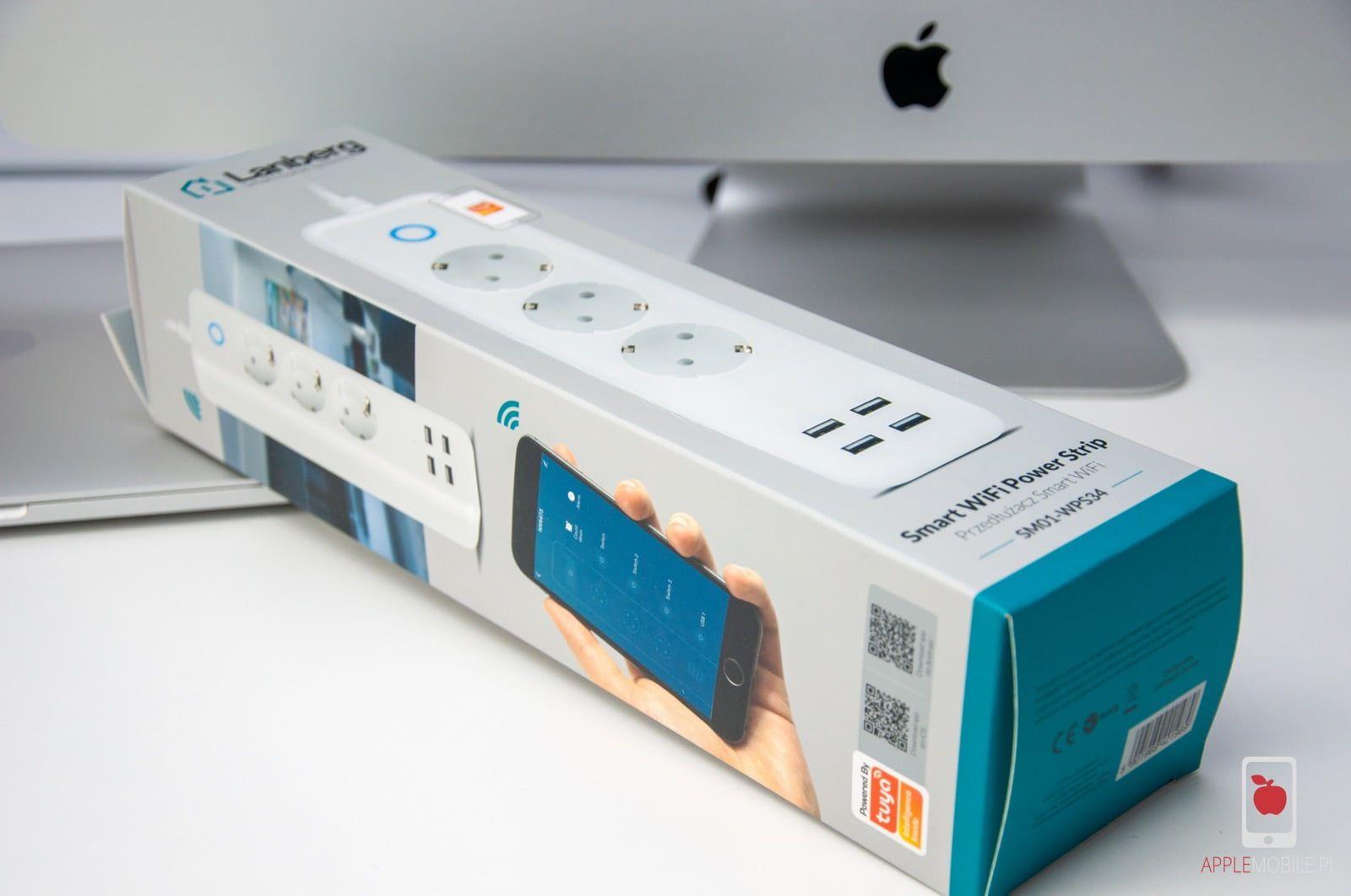 Recenzja Lanberg Smart WiFI Power Strip | listwa zasilającą smart home z pomiarem zużycia energii i sterowaniem za pomocą Siri