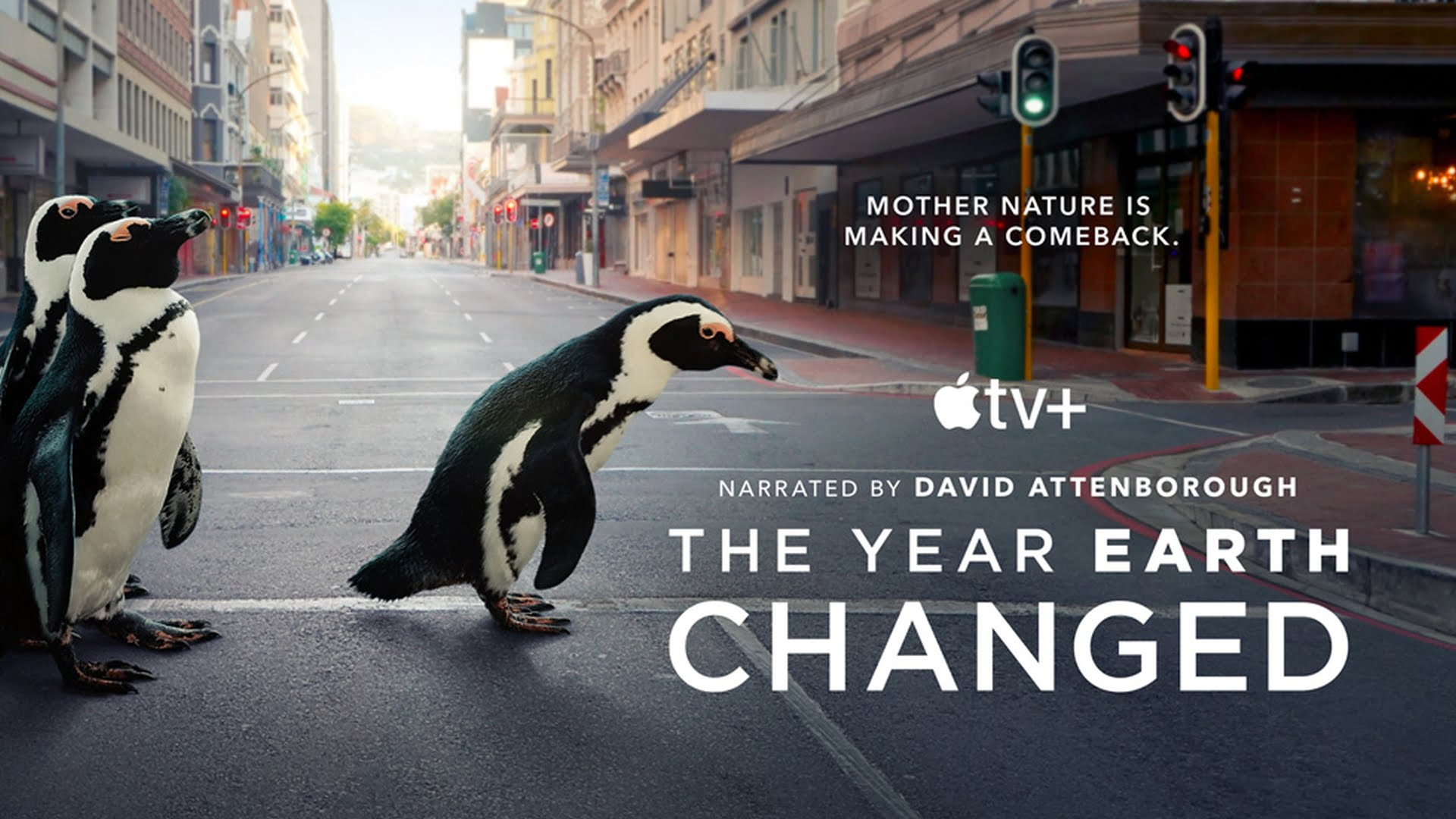 "Dostępny w Apple TV+ film dokumentalny ""The Year Earth Changed"""