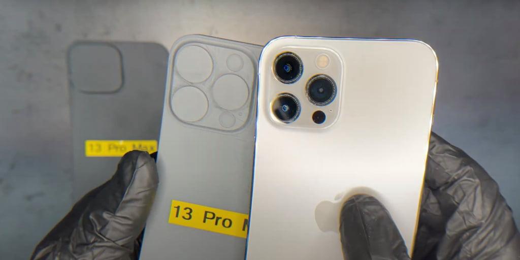 Wyciekły schematy pokazujące znacznie większe obiektywy aparatu w telefonie iPhone 13 Pro Max
