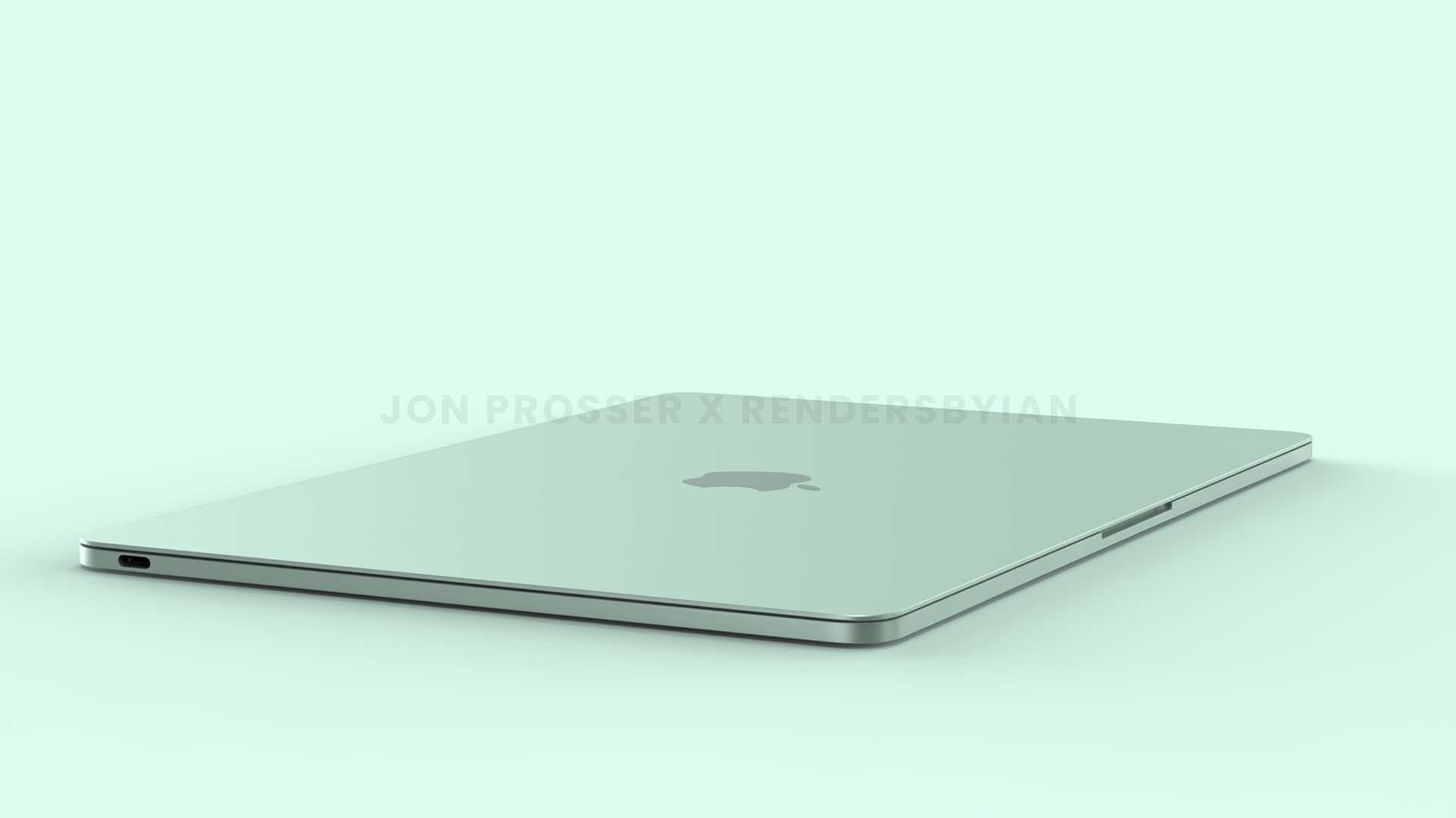 Start masowej produkcji nowego MacBooka Air w 3 kwartale 2022 roku