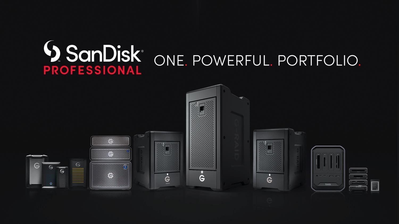 Western Digital prezentuje nową markę dla profesjonalistów: SanDisk Professional