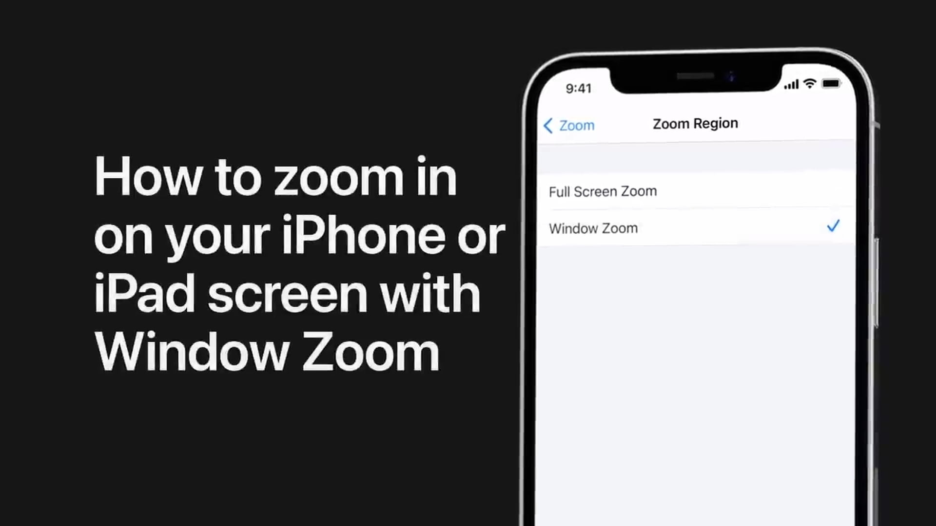 Poradnik Apple: Nowe filmy na temat funkcji dostępności w iOS
