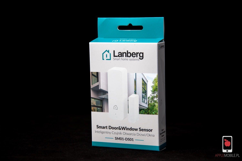 Recenzja Lanberg Smart Door&Window Sensor | Bezprzewodowy kantaktron WiFi do automatyki Tuya sterowanej z iPhone'a