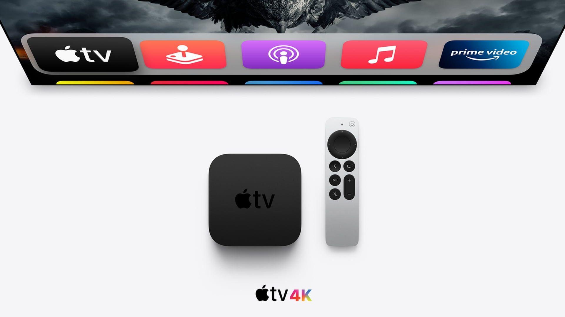 YouTube w 4K i 60 Hz obsługiwany przez nowe Apple TV