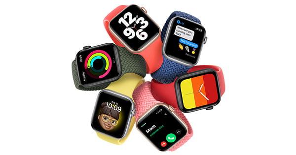 Apple Watch Series 7 z płaskimi krawędziami i nową wersją kolorystyczną!