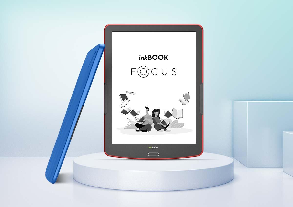Nowy inkBOOK Focus – więcej treści na stronie, więcej czytania i więcej funkcji