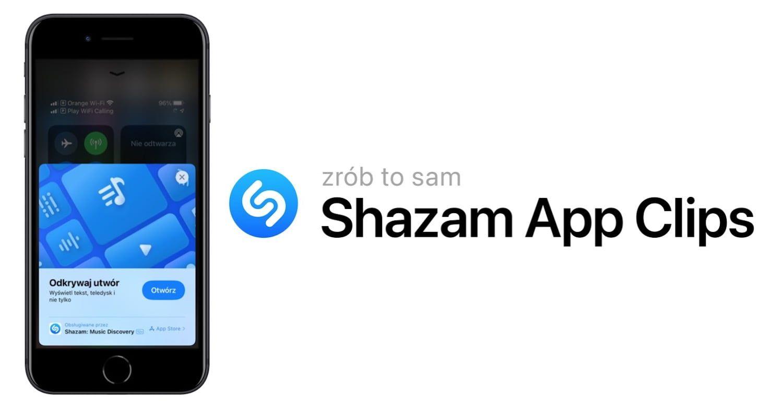 iOS 14.6 – jak używać Shazam App Clip