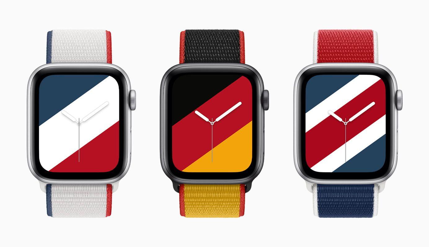 Apple prezentuje nowe paski i tarcze dostępne dla Apple Watch'a
