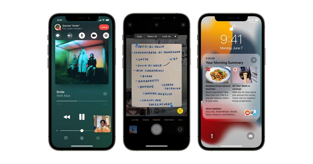 Użytkownicy sąrozczarowani iOS 15 i iPadOS 15