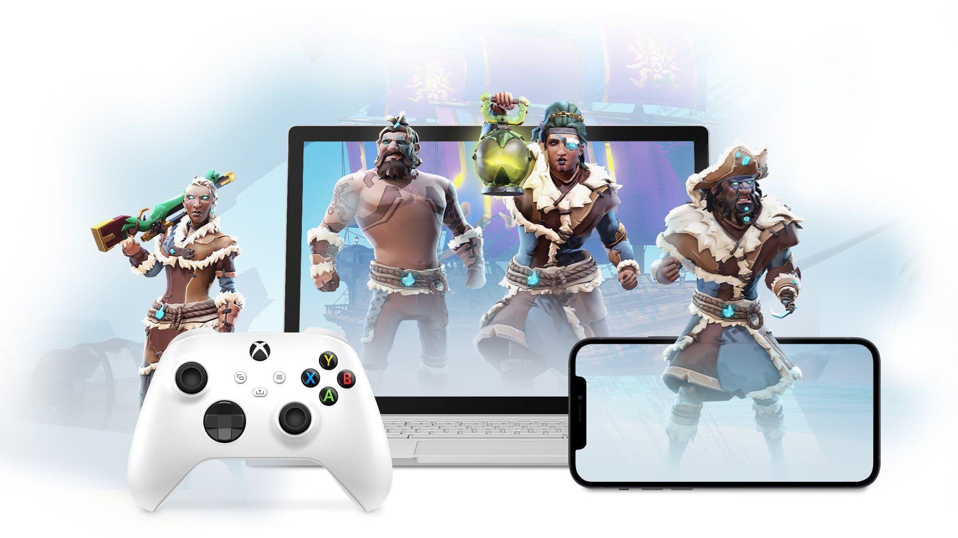 Dostępny Xbox Cloud Gaming w iOS i iPadOS przez Safari