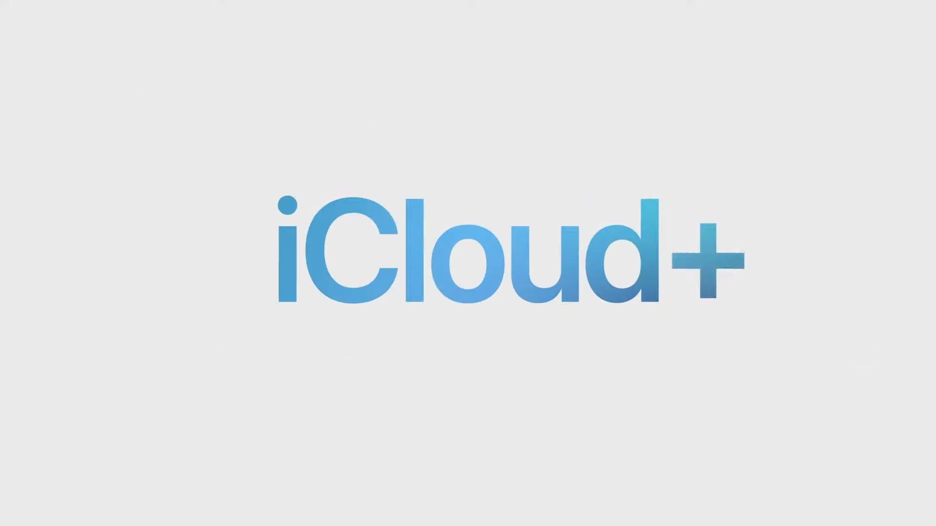 Firma Apple pokazała nowy serwis o nazwie iCloud+