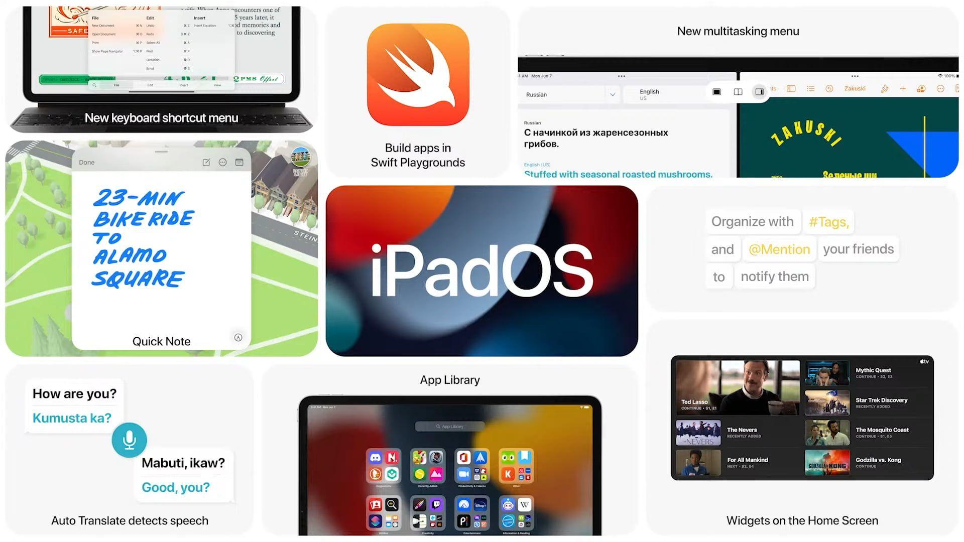 Firma Apple udostępnia oficjalną wersje systemu iPadOS 14.7