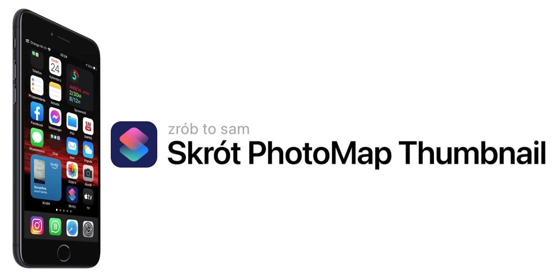 Jak automatycznie dodać do zdjęcia na iPhonie opis i miniaturkę z mapą