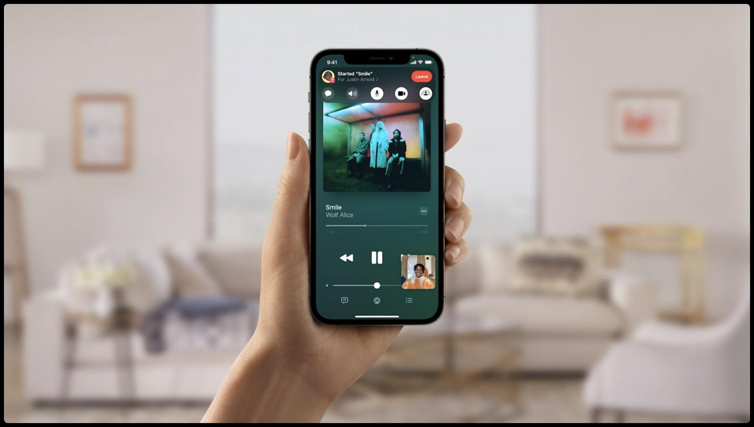 iOS 15 wprowadza wiele nowości w FaceTime, w tym funkcję SharePlay. Będzie równieżdostępny na Androida i Windowsa!