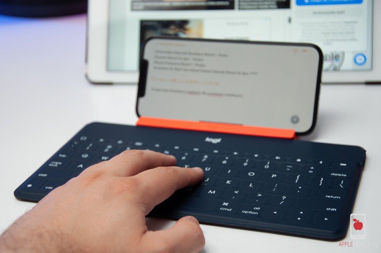 Recenzja Logitech Keys-To-Go – uniwersalna klawiatura Bluetooth dla Apple TV, iPada lub iPhone'a