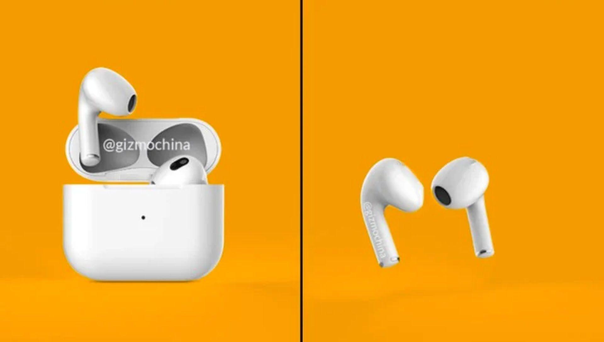 Słuchawki AirPods 3 mogą mieć swoją premierę razem z iPhone'ami