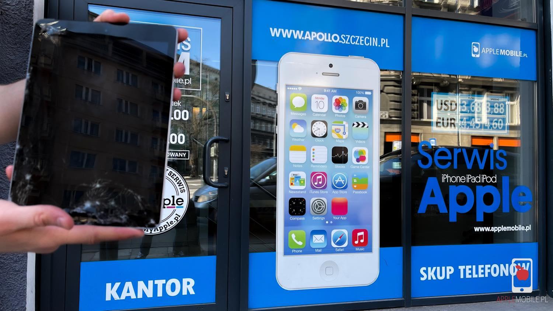 Gdzie naprawić zbita szybka iPad w Szczecinie? Serwis tabletów iPad Szczecin
