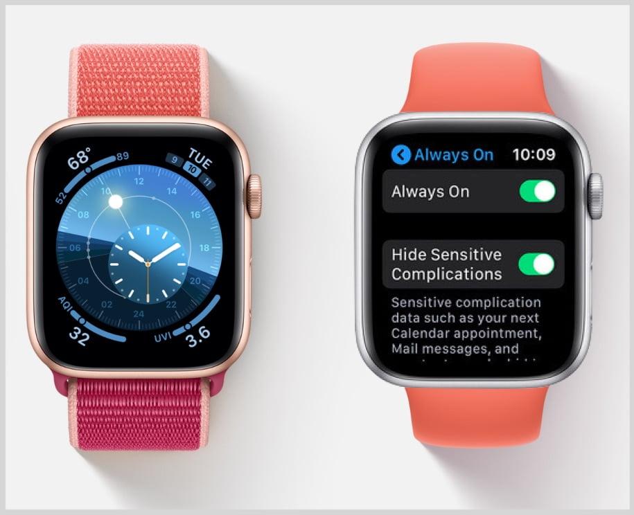 """iPhone 13 może otrzymać funkcję """"always on display"""" wzorowaną na Apple Watch'u"""