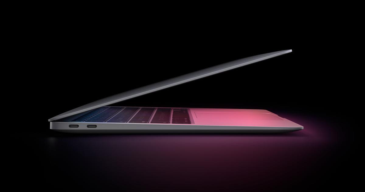MacBook Air z ekranem Mini Led pojawi sięjuż w 2022 roku