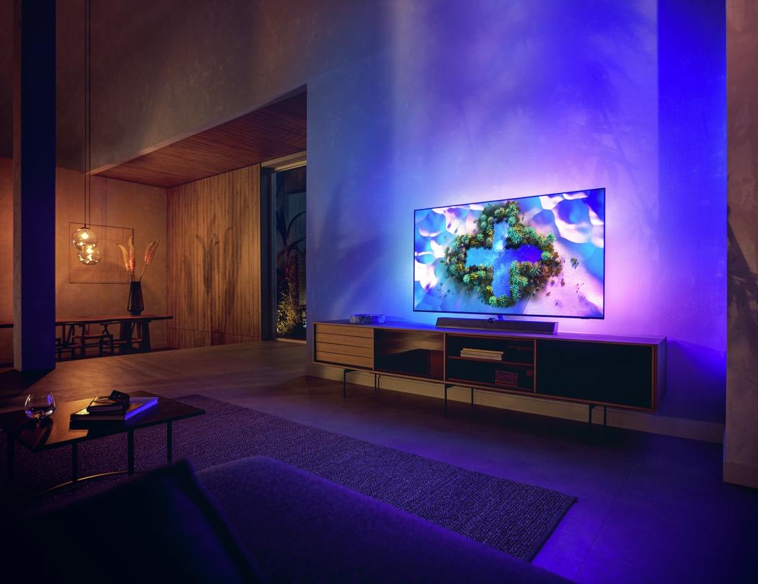 Wyższa jakość obrazu dzięki nowemu procesorowi Philips P5 Intelligent Dual Picture Engine piątej generacji