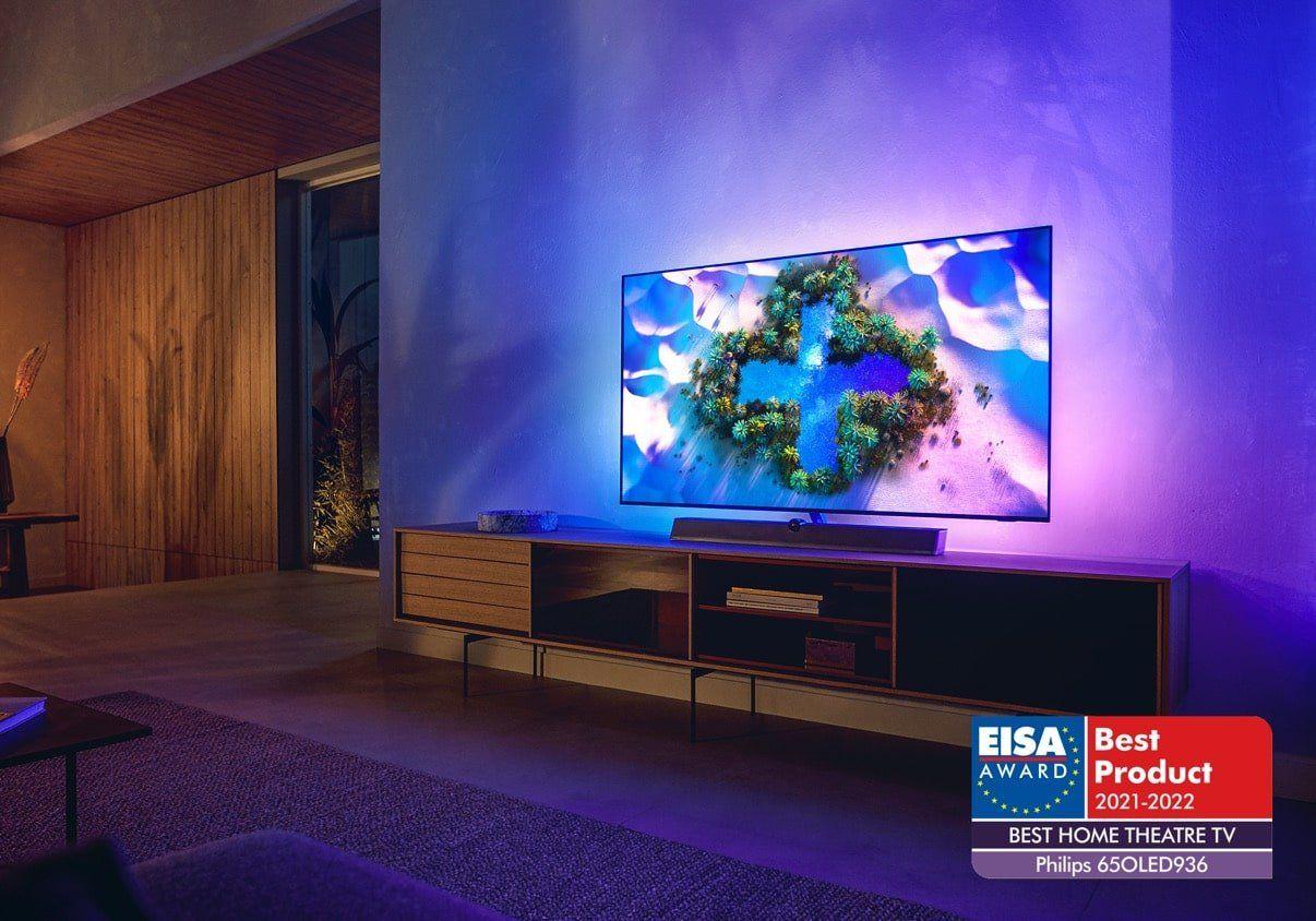 Cztery nagrody EISA dla urządzeń Philips TV & Sound – sprawdźcie jakie urządzenia otrzymały nagrody!