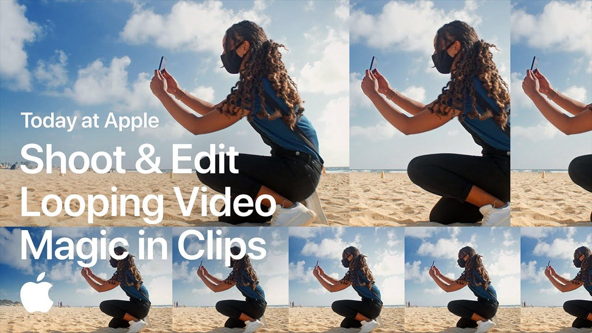 Poradnik Apple: Nagrywanie zapętlonych filmów w aplikacji Clips