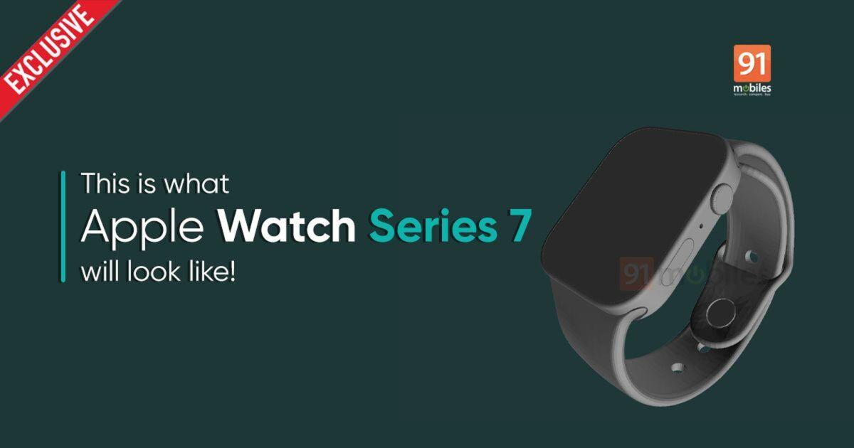 Prawdopodobny wygląd Apple Watcha Series 7 na grafikach CAD