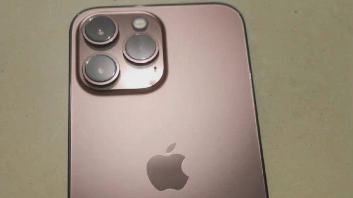 Zdjęcia przedstawiające iPhone'a 13 Pro w nowym kolorze