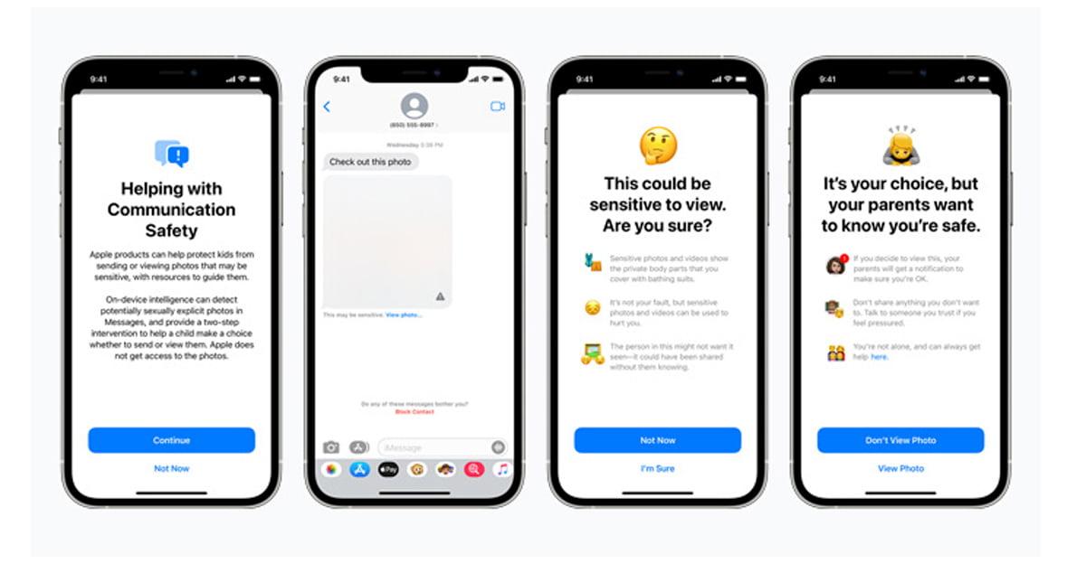 Apple otworzy sięna funkcje dotyczące bezpieczeństwa dzieci od zewnętrznych firm