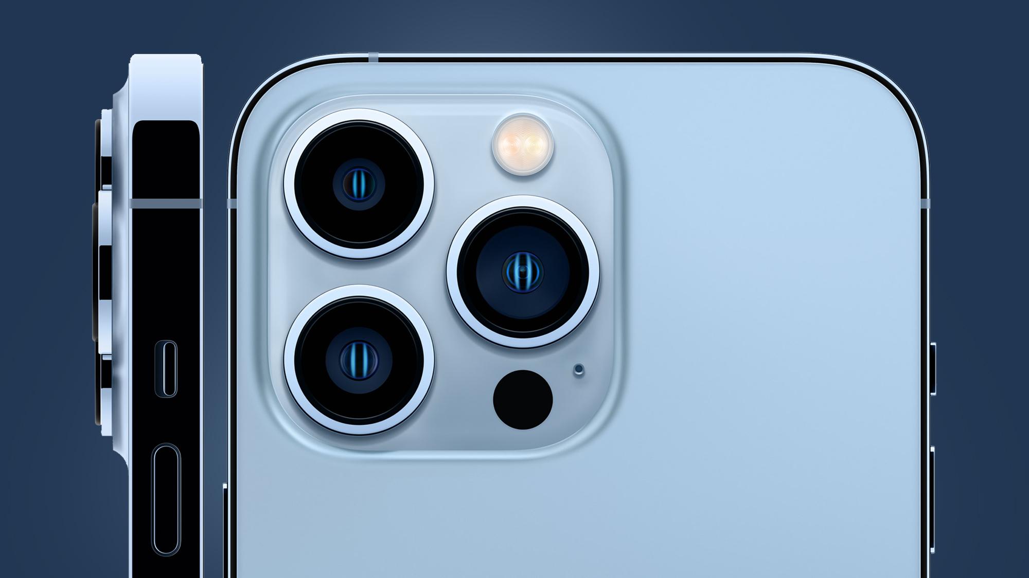 Szczegółowe informacje na temat modułów aparatu w iPhone 13 Pro Max